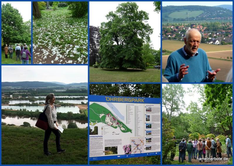 Ein Landschaftsgarten im romantischen Stil – der Ohrbergpark Nähe Hameln