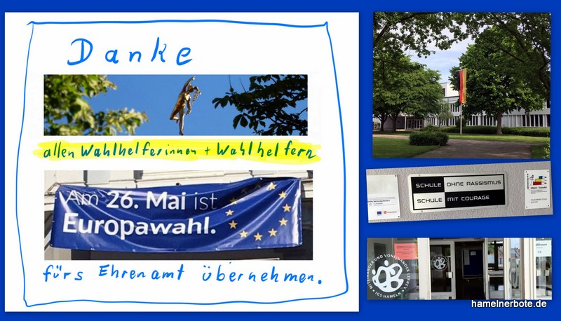 Danke an alle WahlhelferInnen zur Europawahl!