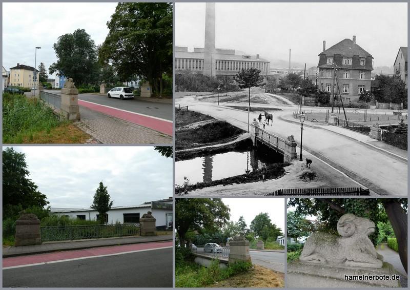 """Schafsbrücke"" Wittekindstraße / Ohsenerstraße"