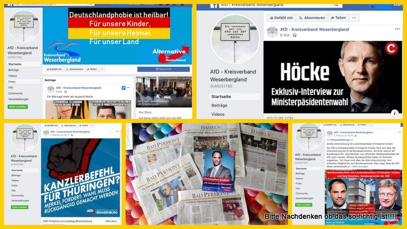 """Ist """"Deutschlandphobie"""" heilbar? Gedanken zum Umgang mit der AfD im Weserbergland."""