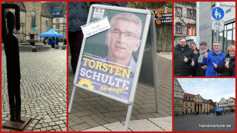 Impressionen Straßenwahlkampf 15.2.2020 – Landratswahlen HM-PY