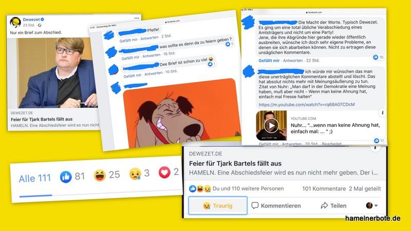 Des Landrats Abschied im Kommentarspiegel – Rede und Gegenrede auf der DEWEZET-Facebookseite (#LRabschiedHM)