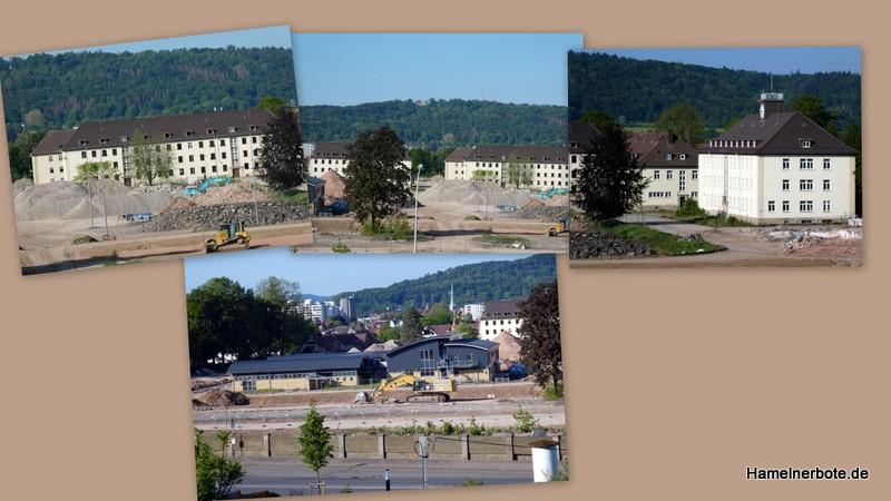Abbruch Linsingenkaserne Stand 16.05.2020