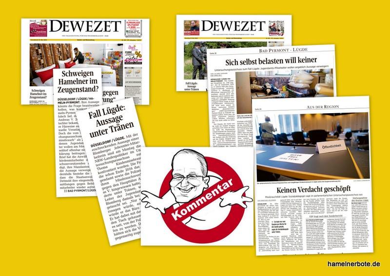 Die DEWEZET und der Kindesmissbrauch in Lügde. Ein Kommentar-Update vom 24.05.2020. Zwei Dimensionen der Folgen.