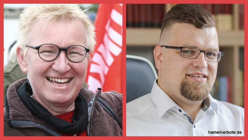 Die rote Fahne wird weitergereicht. Stephan Marquardt möchte der neue Bundestagskandidat der Partei die Linke im Jahr 2021 werden.