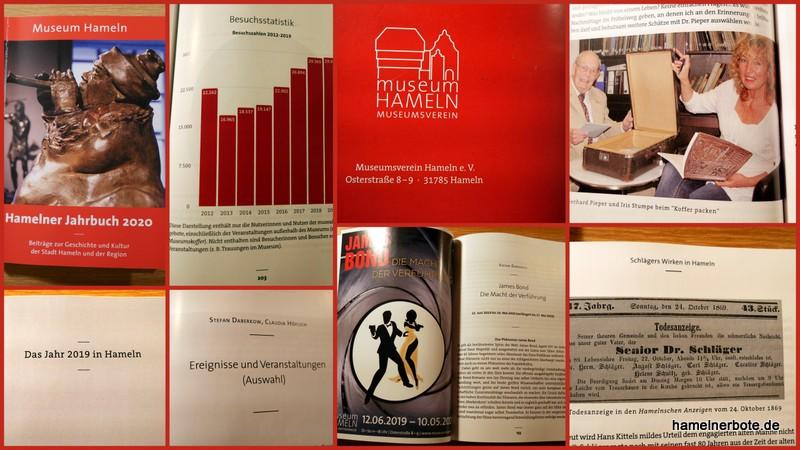 Einblicke: Museums-Jahrbuch 2020 – Beiträge zur Geschichte und Kultur der Stadt Hameln