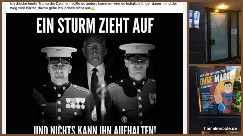 """""""Die Basis"""" von Trump in Deutschland"""