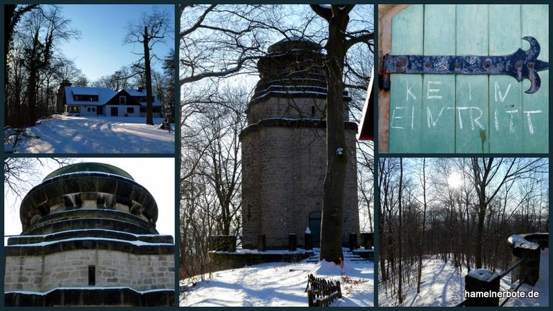Bismarckturm aktuell: Antworten der Stadt Hameln auf verschiedene Fragen.