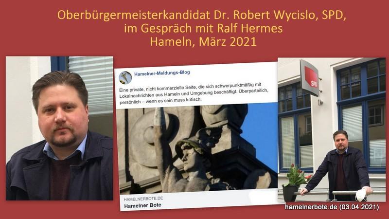 Vorgestellt: Dr. Robert Wycislo – OB-Kandidat der SPD für die Stadt Hameln