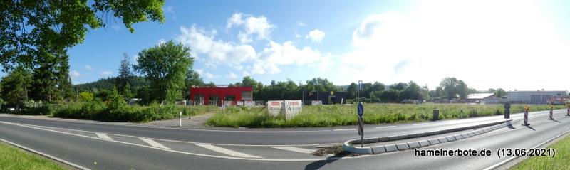 Tankstellenneubau – Ehemals Gärtnerei Rosebusch