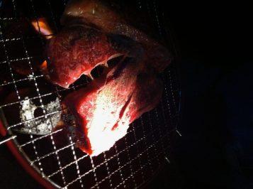 かなり分厚い肉だが、これは出荷停止されたものだ