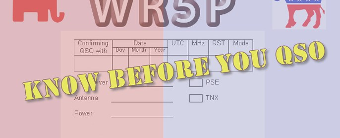 Know Before You QSO Program