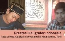 Prestasi Indonesia di Lomba Kaligrafi Konya