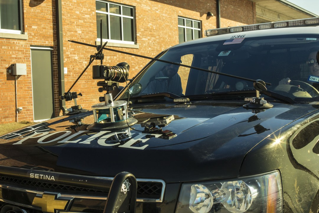 Nice triangulation of the Matthews Studios Equipment Master Car Mount