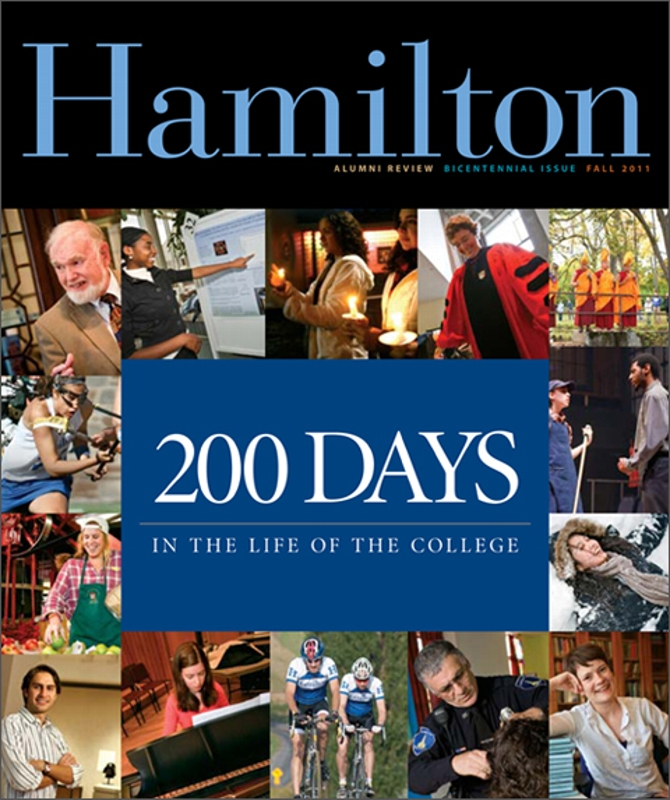 Alumni Review 's 200 Days Is Published  News  Hamilton
