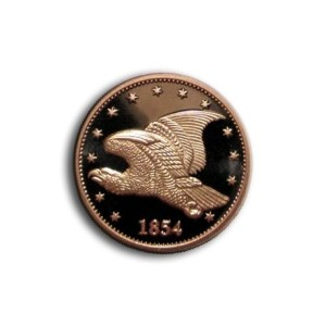 Grove Minting Commemorative Token Flying Eagle Large Cent