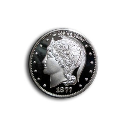 Grove Minting Commemorative Token Helmeted Liberty Half Dollar