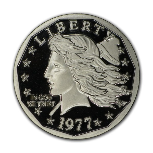 Grove Minting Commemorative Proof of the 1977 Liberty Dollar