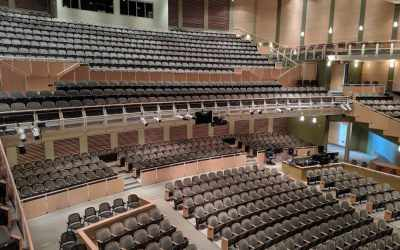 Lighting Upgrades for Forest Hills Fine Arts Center