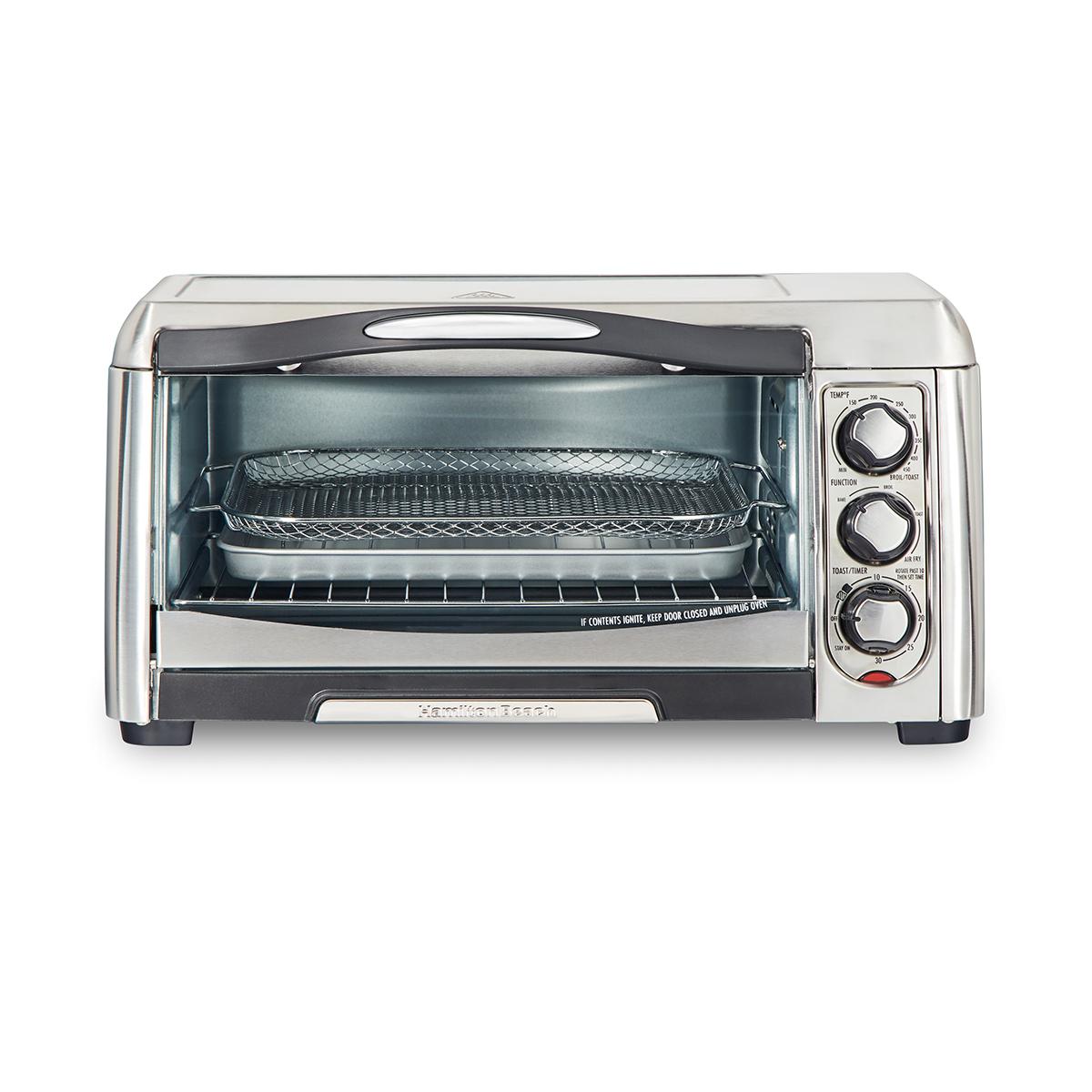 hamilton beach sure crisp air fry toaster oven 31323