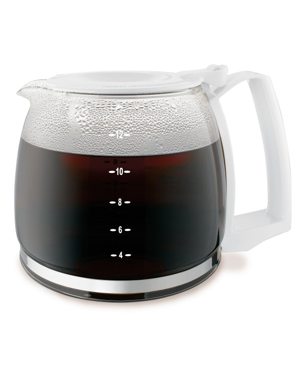 12 Cup Replacement Carafe - Glass Black Hamilton Beach