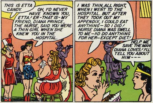 Image result for wonder woman etta candy