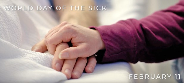 World Day of the Sick:<br/><strong>February 11, 2019</strong>