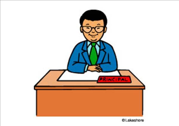 Cartoon Principal Clip Art
