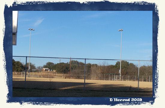 Baseball/Softball fields.