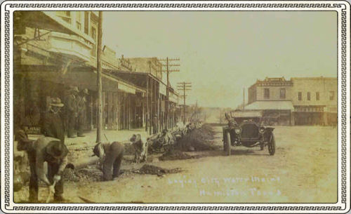 Rice Street, West side of Courthouse Square, Hamilton
