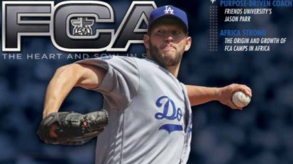 LA Dodgers Clayton Kershaw (and Fellowship of Christian Athletes Magazine Cover) Using His Platform Wisely