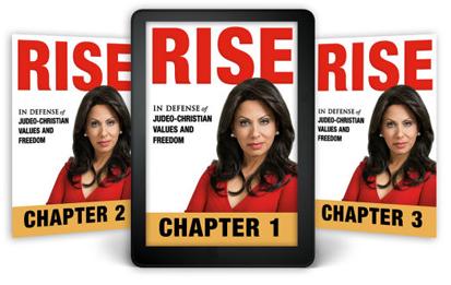 Brigitte Gabriel Talks About Her New Book 'RISE' on 'Crosstalk'