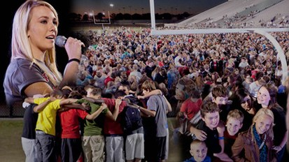 Jeff Martin of FCA Interviews About the Amazing Fields of Faith Event