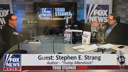 Author/Publisher Stephen E. Strang Talks with Todd Starnes About 'Trump Aftershock'