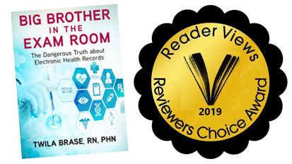 'Big Brother in the Exam Room' Awarded First Place by Reader Views!