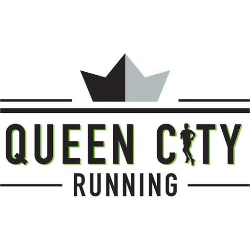 Queen city running logo