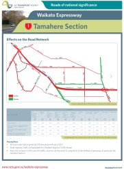 SH1 Tamahere section: Effects on the Road Network