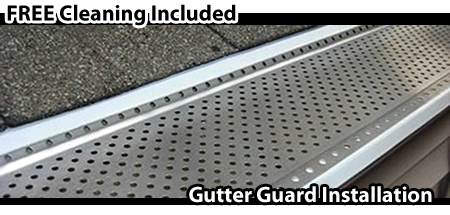 Hamilton_Gutter Guard Installation