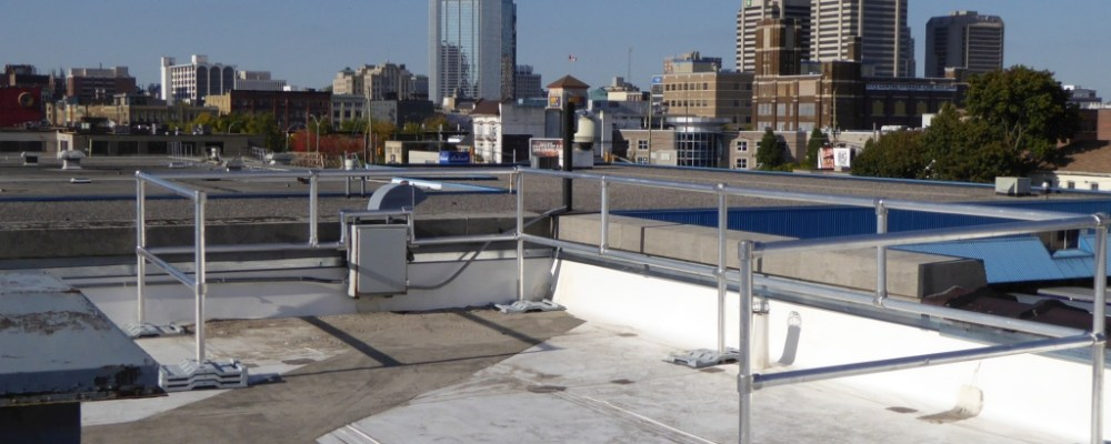 Roof Guard Railing Systems