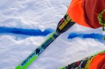 A small crevasse - the reason skis work well!