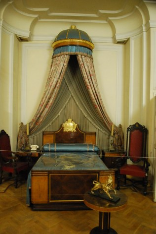Haile Selassie's bedroom