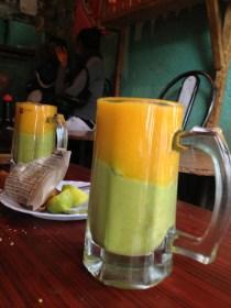 Mango and Avocado juice