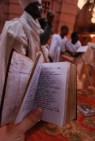 Ge'ez (ancient Ethiopian religious language) hymn book