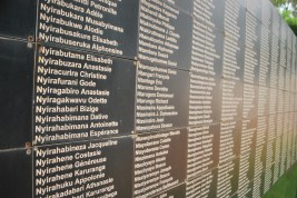 A small portion of many of the names who were killed, often by the neighbours or friends
