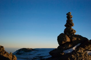A cairn to guide the way