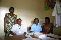 Felistas, Naomi, Mbatana and Bathsheba, four of the translators