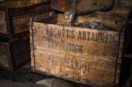 Crate from Scott's later 1910 expedition