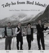 BAS Bird Island Midwinter Card