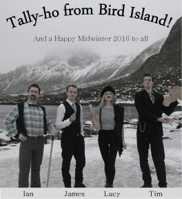 BAS Bird Island Midwinter Card