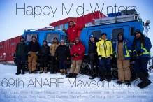 Mawson midwinter greeting